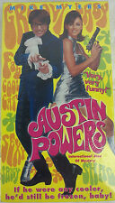 Austin Powers: International Man of Mystery (VHS, 1997) NEW & SEALED Mike Myers