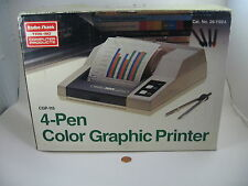 TRS-80 CGP-115 Color Graphic Plotter/Printer Radio Shack Tandy ---  NEW IN BOX