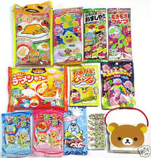 12pcs Cute Japanese DIY Candy Making Kits Popin Cookin Kracie Meiji Gudetama ❤