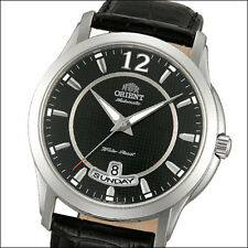 Orient Lexington Automatic Watch w/ Black Dial, Black Band #FEV0M002B, EV0M002B
