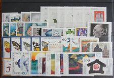 Germany Complete Year 1992 Stamp Set MNH German Stamps