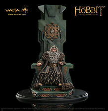 Weta KING THROR ON THRONE Statue The Hobbit Lord of the Rings LotR Not Sideshow