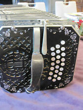 Bandoneon- Concertina Alfred Arnold in sehr gutem Zustand