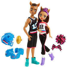 Monster High Winning Werewolves Dolls - Clawd Wolf and Clawdeen Wolf Giftset NEW