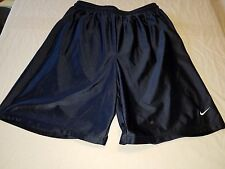 Vintage NIKE Athletic Shorts Navy Blue Men's Size Large