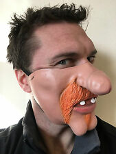 Funny Half Face Dick Nose Mask Scotsman Ginger Beard Willy Masks Stag Party