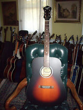 Recording King RDH-05 Solid Top Steel String Dreadnought Acoustic Guitar