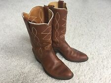 Vintage Justin 1536 Cowboy Boots Men's Size 6 Made in USA