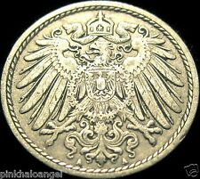 Germany - German Empire - German 1911A 5 Pfennig Coin - 105 years old