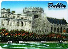Fridge magnet,Dublin,irish souvenir.gift,ireland 3D design DUBLIN CASTLE/DAY