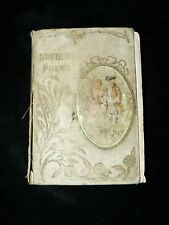 "Antique Vintage Book "" Whittiers Poems """