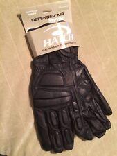 Hatch Defender MP100 Large Leather Biker Kevlar Gloves Riot Police Tactical SWAT