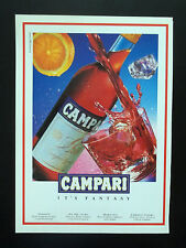 F153 - Advertising Pubblicità - 1992 - CAMPARI IT'S FANTASY