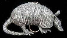 ARMADILLO BELT BUCKLE VERY COOL!
