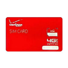 Verizon Wireless Micro 4G LTE Certified NFC 3FF SIM Card