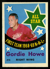1969-70 OPC O-PEE-CHEE~#215~GORDIE HOWE~FIRST TEAM ALL-STAR (PTS)