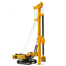 KDW 1/64 Scale Diecast Spin Drilling Rig Machine Construction Equipment Model