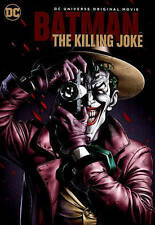 BATMAN THE KILLING JOKE (DVD, 2016) NEW