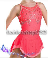 2017 New Gorgeous Figure Ice Skating Dress Dance Dress For Competition xx246