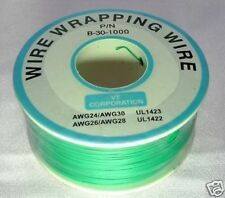 Prototype Wire wrap cable 30AWG 30# 1000ft Green WII Xbox