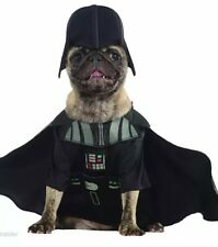 NWT Disney Darth Vader Star Wars Halloween Pet Dog Costume Small Cape Headpiece