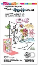Build A Pop Up Card Set, High Quality Steel Die Set STAMPENDOUS - New, DCP1001