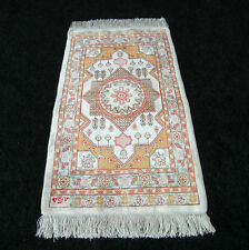 Seidenteppich Hereke Seide 70 x 40 cm Orient Teppich Old Turkish Silk Carpet Rug