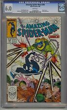 AMAZING SPIDER-MAN #299 CGC 6.0 WHITE PAGES VENOM CAMEO MARVEL