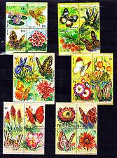 Burundi - Butterflies/Insects/Fauna/Nature - - set MNH**