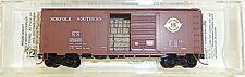 Norfolk southern 40 standard Box Car Micro pat 020 00 856 N 1:160 OVP hf3 å