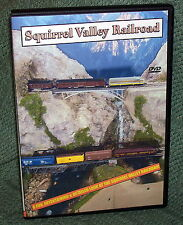 "20117 MODEL RAILROAD DVD ""SQUIRREL VALLEY RAILROAD"" N SCALE STEAM/DIESEL"
