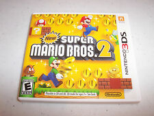 New Super Mario Bros. 2 Nintendo 3DS XL 2DS Game w/Case (No Manual)