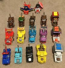Disney Store Pixar Cars LOT 1:43 Mater Collection - 17 Different Cars - CHASE