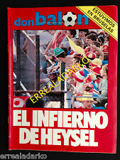 DON BALON 503 HEYSEL JUVENTUS LIVERPOOL -ATHLETIC BILBAO-TROFEO ZAMORA-MOTOR ETC