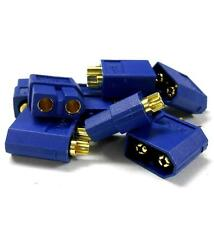 C0105B5 RC XT60 XT-60 Connector Plug Socket Adapter Blue Male Female x 5