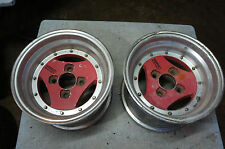 "2pc pieces ONLY JDM Advan A3A 13"" rims wheels datsun ssr rays volk work"