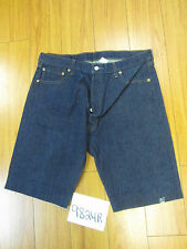 "Levi used 501 high waisted cut off shorts Tag 38"" Meas 35"" Inseam 12"" 9824R"