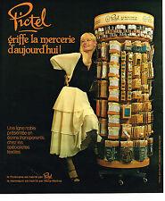 PUBLICITE ADVERTISING 054  1978  PICTEL     mercerie