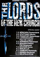 LORDS OF THE NEW CHURCH TOUR POSTER / KONZERTPLAKAT