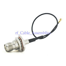 IPX / u.fl to RP-TNC female jack bulkhead pigtail 1.37mm cable 15cm for Wireless