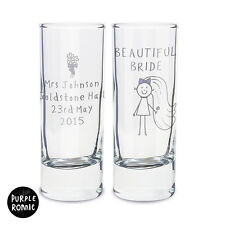 PERSONALISED SHOT GLASS HEN NIGHT BRIDE TO BE GIFT IDEA | FUNNY PRESENT