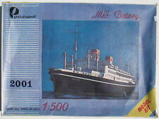 PROZAPOL - M/S BATORY - 1:500 - Passagierschiff Modellbausatz - Ship Model KIT