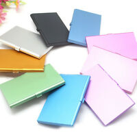 Waterproof Aluminium Metal Pocket ID Credit Business Card Case Wallet Holder Box