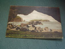 OLD MULLION COVE FROM THE CAVES - CORNWALL POSTCARD