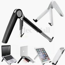 For Macbook iPad Tablet PC Book Aluminium Tripod Folding Stand Holder Desk Mount
