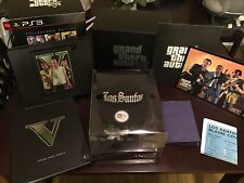 Grand Theft Auto V GTA 5 Collector's Limited Edition PS3 Complete in Box CIB