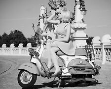 "Vespa Scooters Mods 10"" x 8"" Photograph no 4"