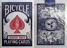 Bicycle League Back Playing (blue) – Pre Bar Code - SEALED