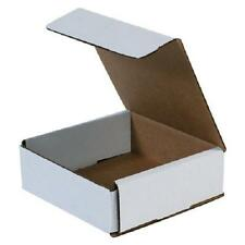 "Corrugated Cardboard Shipping Boxes Mailers 6"" x 6"" x 2"" (Bundle of 50)"