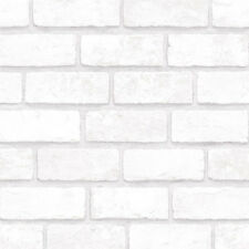 Light Grey Brick Look Contact Paper Peel and Stick Prepasted Vinyl Wallcovering